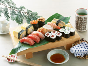 お寿司をたべよう